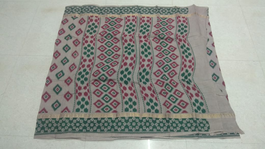 6d615f4a61 Double Side Printed Zari Borders With Hand-Printed Fancy Designs On ...